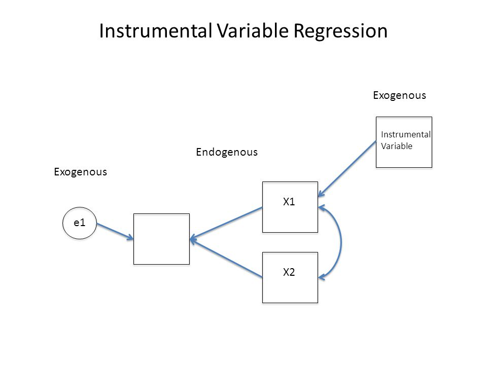 Instrumental Variable Regression