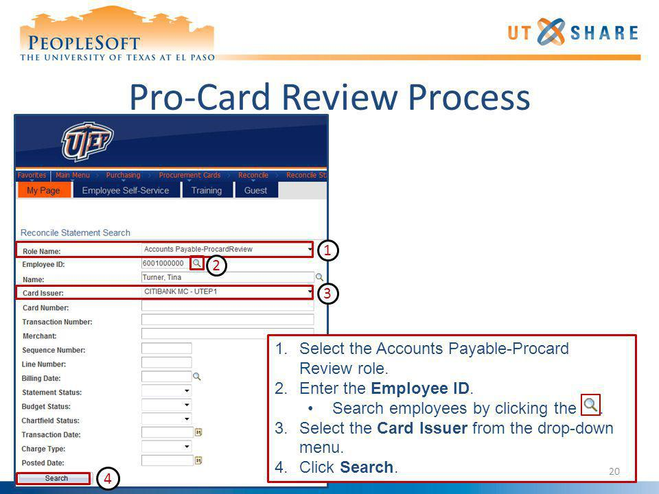 Pro-Card Review Process