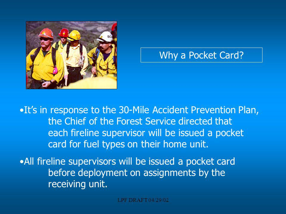 Why a Pocket Card