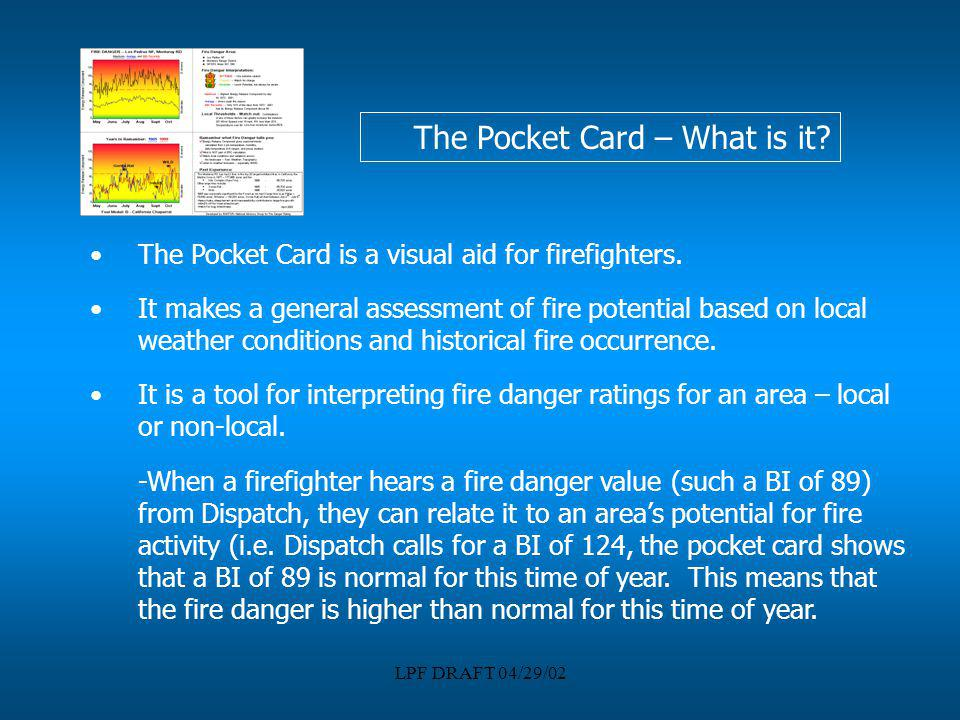 The Pocket Card – What is it