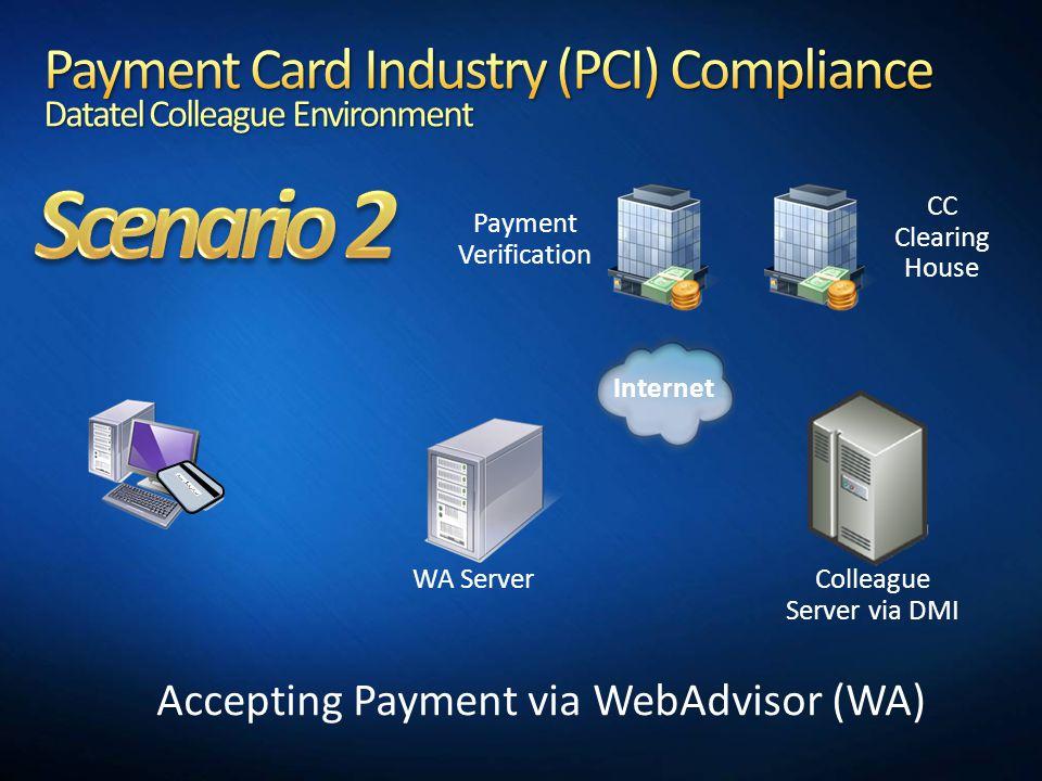 Accepting Payment via WebAdvisor (WA)