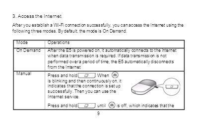 3. Access the Internet