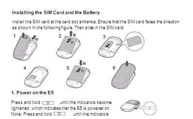Installing the SIM Card and the Battery