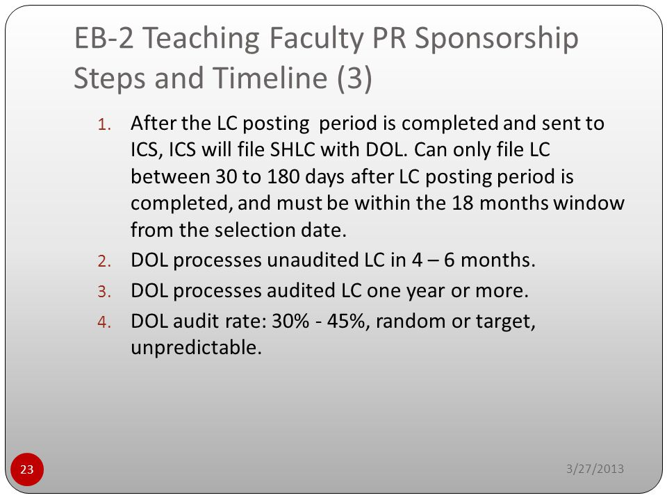 EB-2 Teaching Faculty PR Sponsorship Steps and Timeline (3)