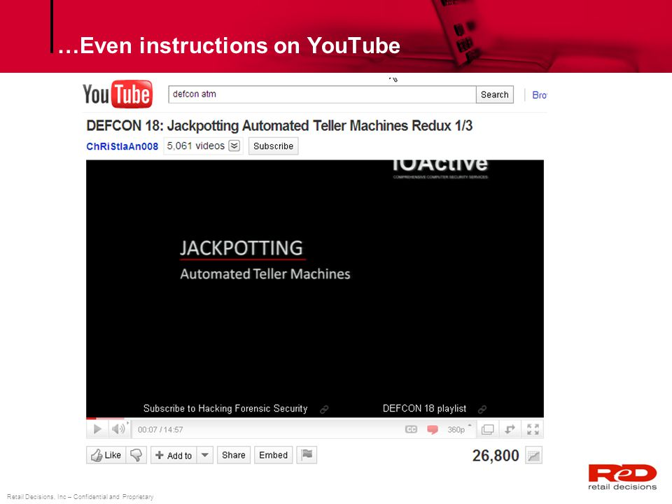 …Even instructions on YouTube