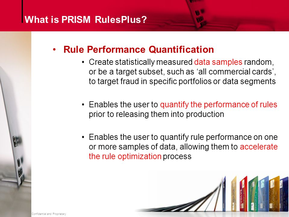 What is PRISM RulesPlus