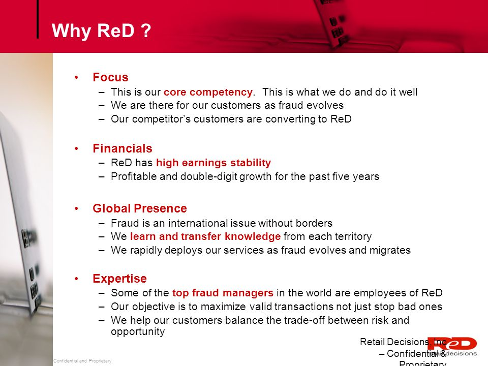 Why ReD Focus Financials Global Presence Expertise