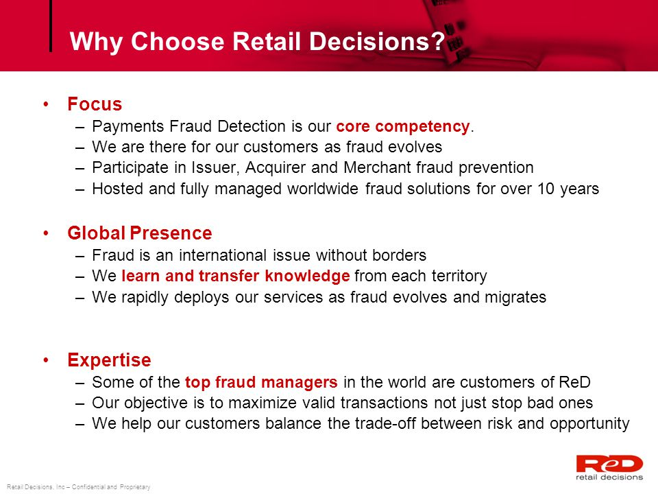 Why Choose Retail Decisions