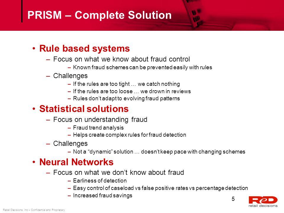 PRISM – Complete Solution