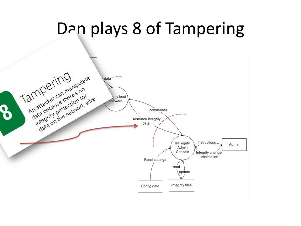 Dan plays 8 of Tampering Dan plays 8 of Tampering