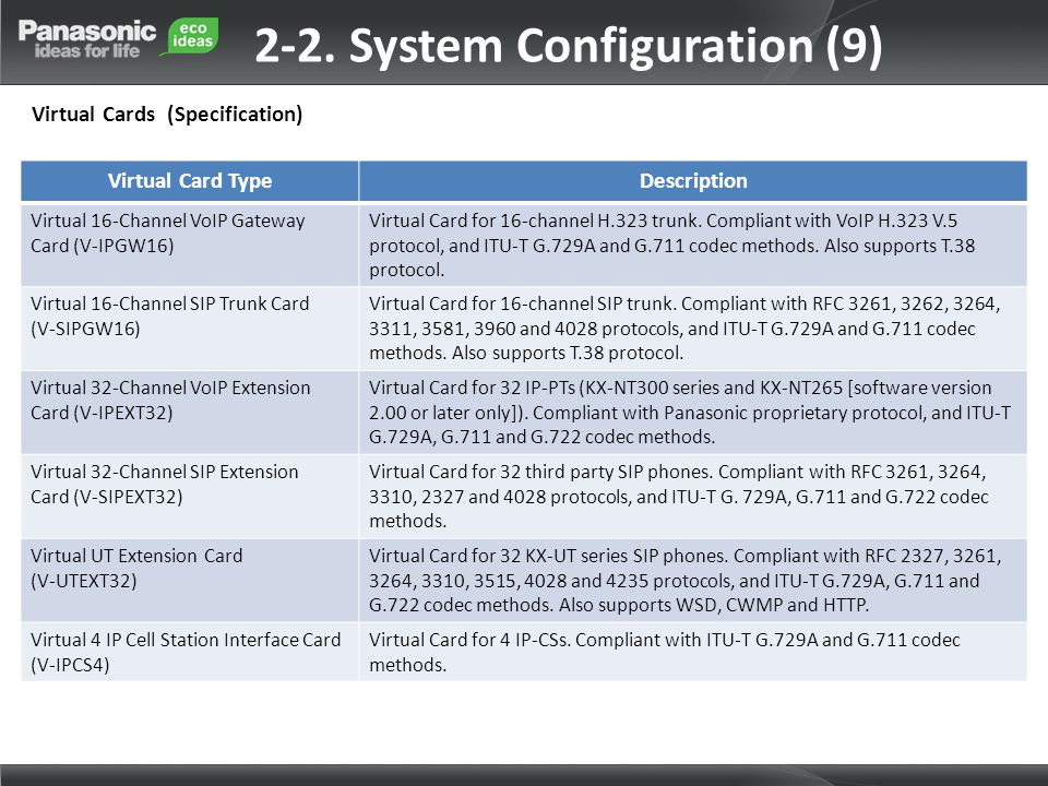 2-2. System Configuration (9)
