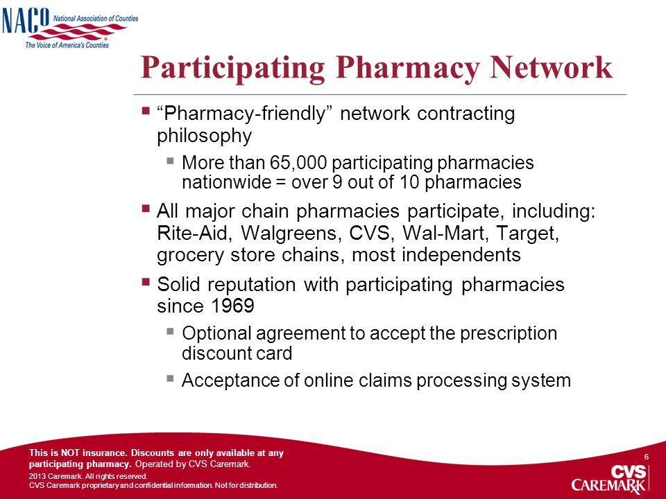 Participating Pharmacy Network