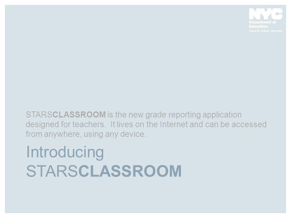 Introducing STARSCLASSROOM