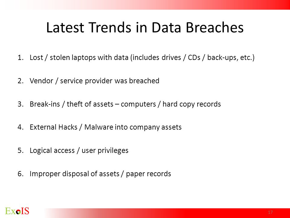 Latest Trends in Data Breaches