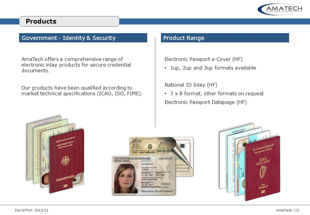 Products Government - Identity & Security Product Range