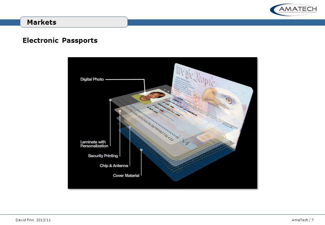 Markets Electronic Passports