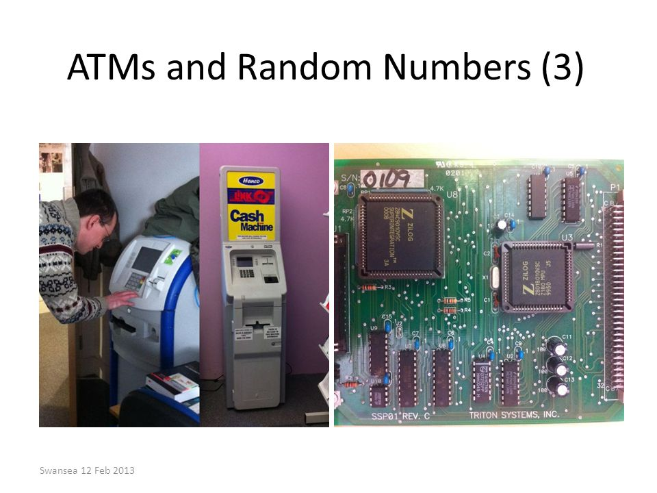 ATMs and Random Numbers (3)