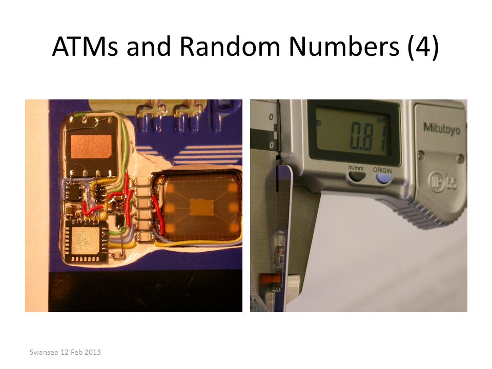 ATMs and Random Numbers (4)