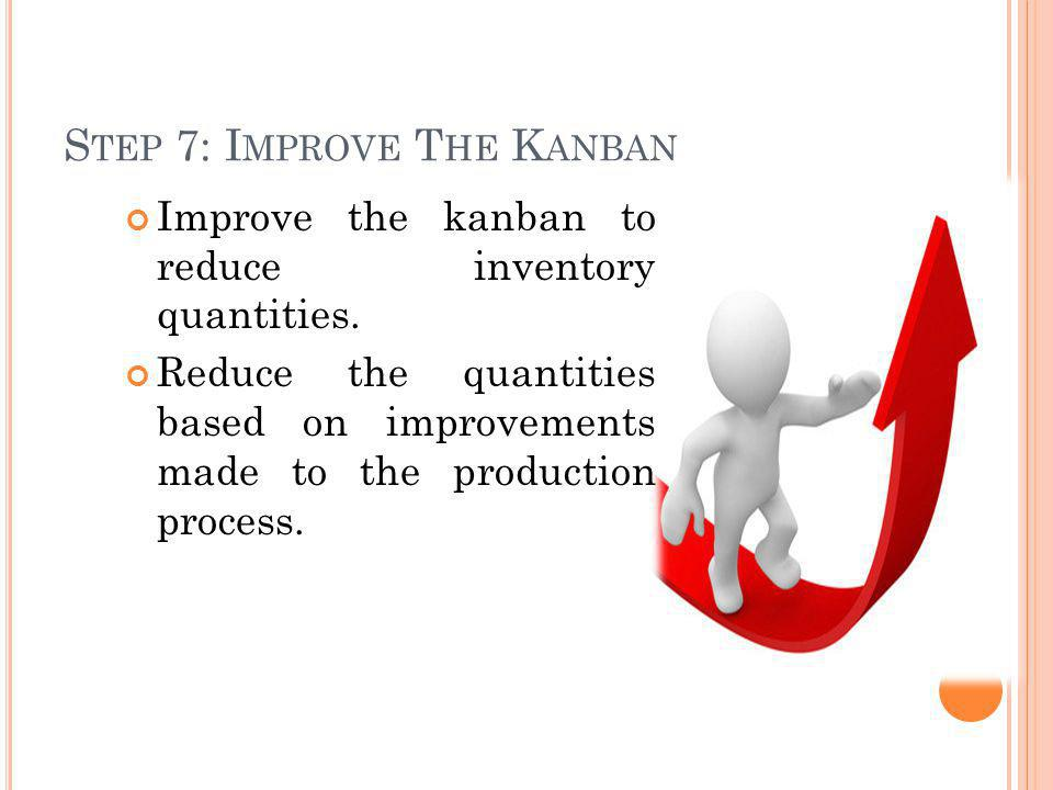 Step 7: Improve The Kanban
