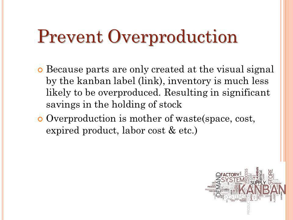 Prevent Overproduction