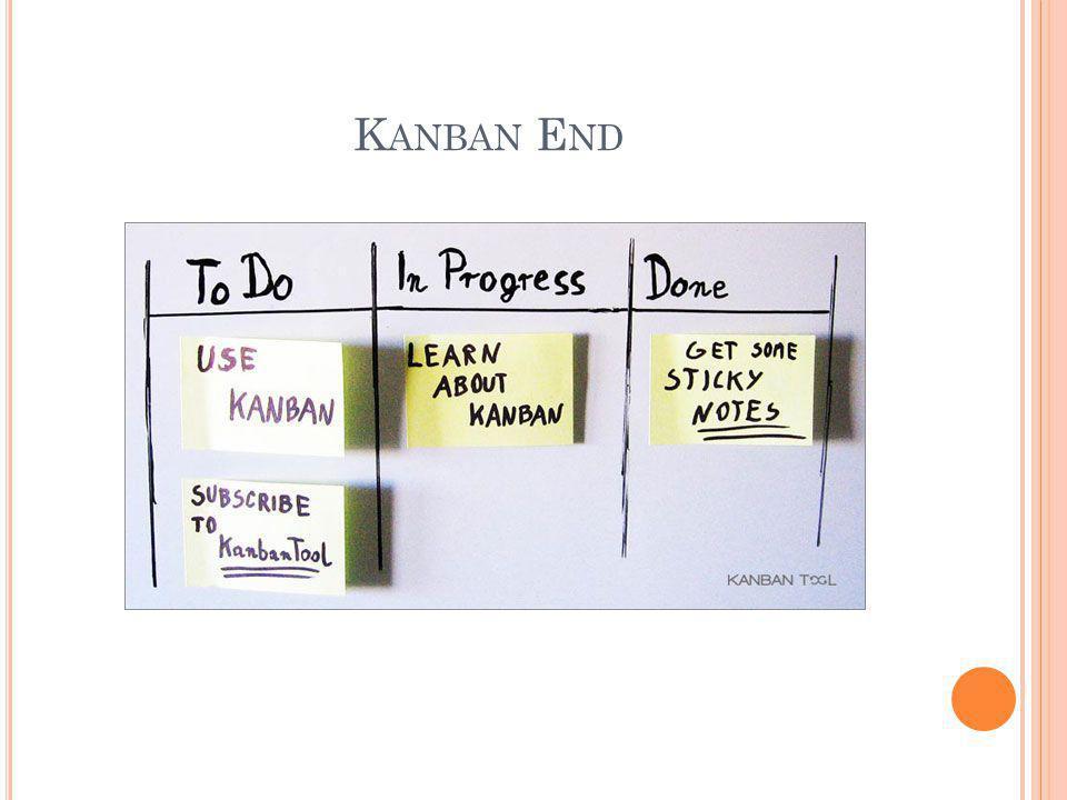 Kanban End