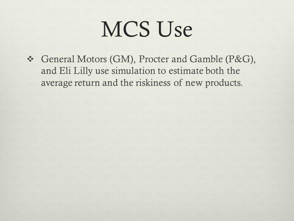 MCS Use