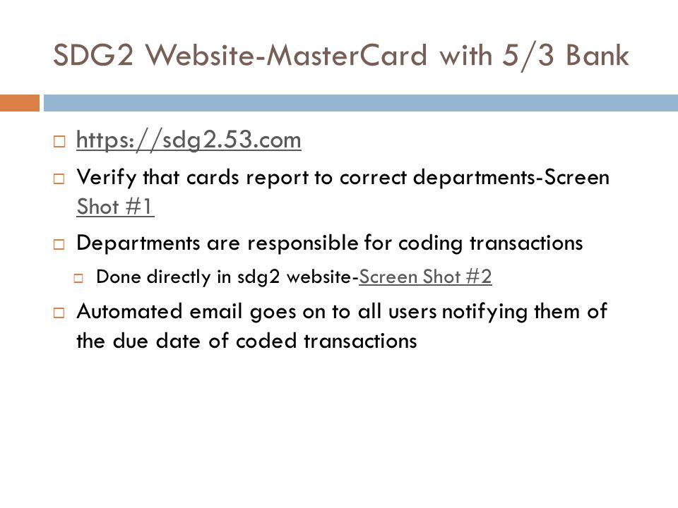 SDG2 Website-MasterCard with 5/3 Bank