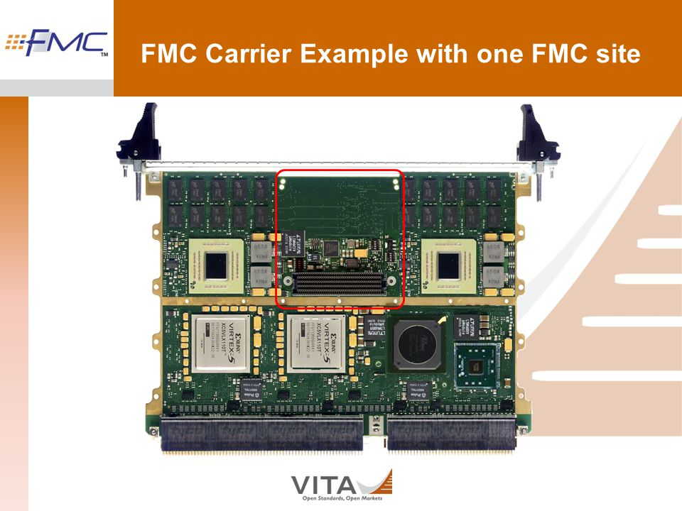 FMC Carrier Example with one FMC site