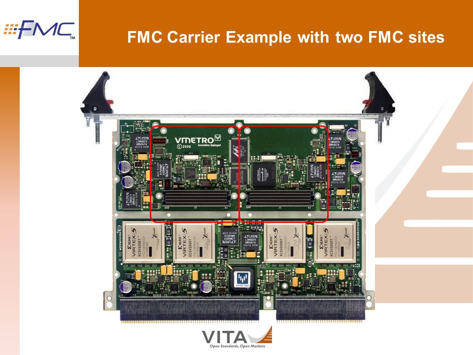 FMC Carrier Example with two FMC sites