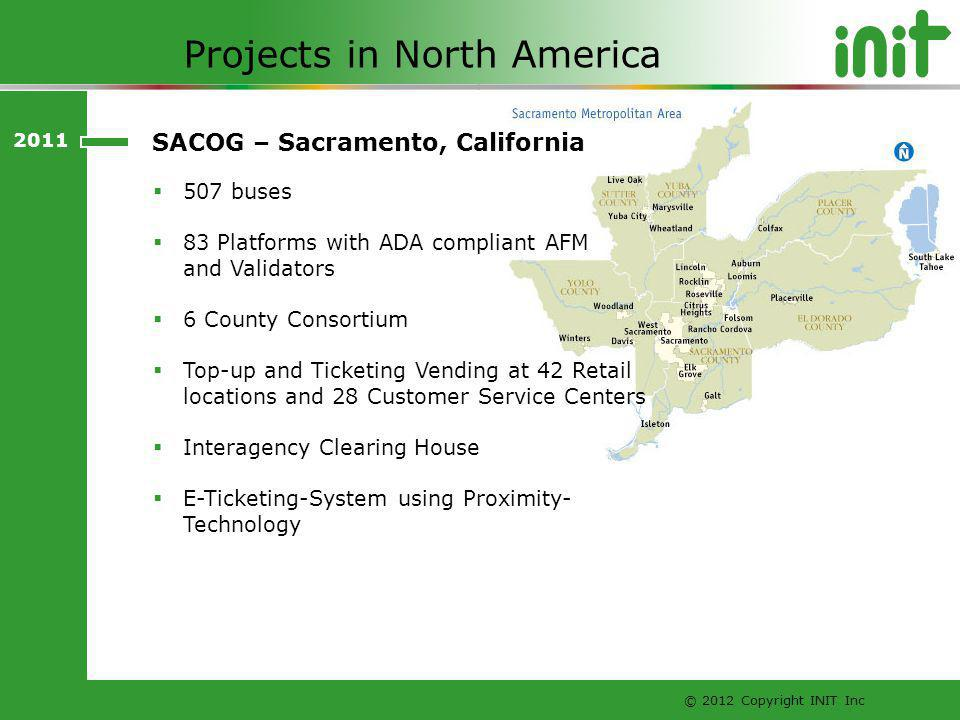 Projects in North America