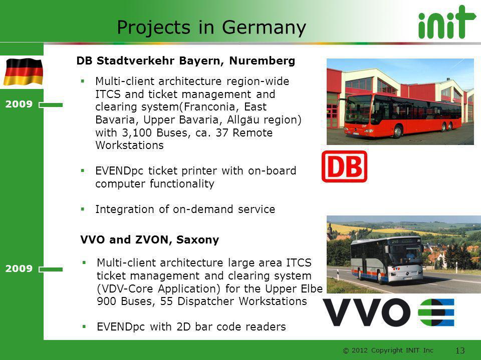 Projects in Germany DB Stadtverkehr Bayern, Nuremberg