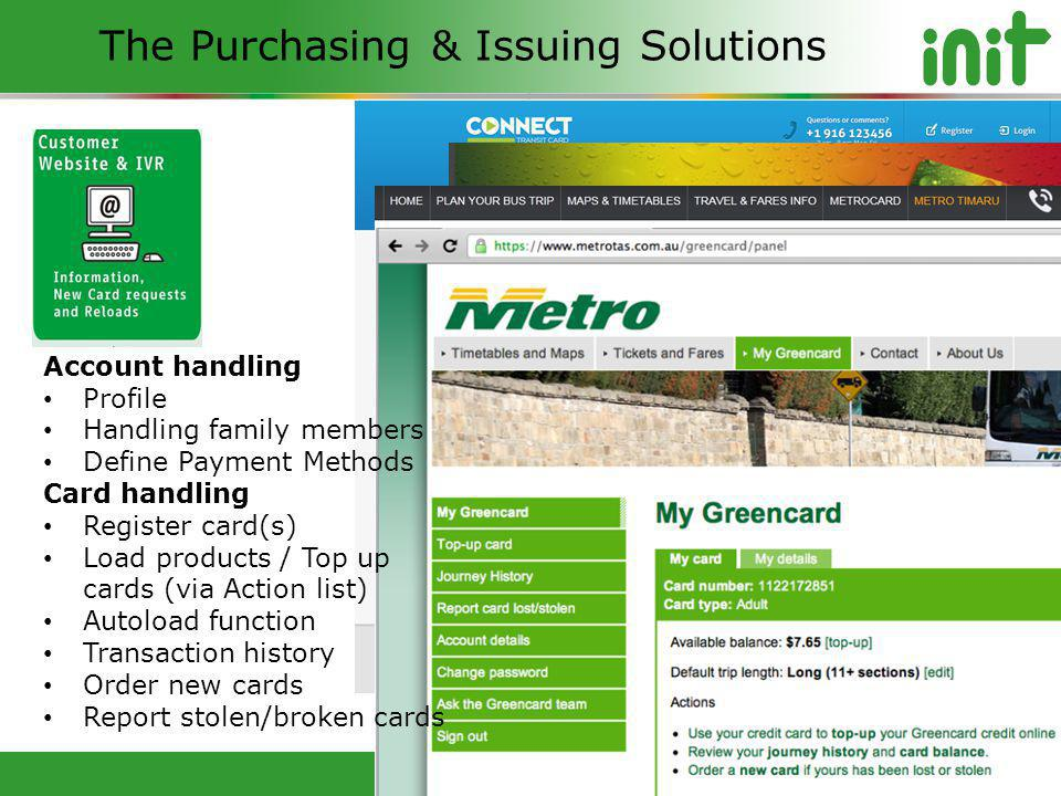 The Purchasing & Issuing Solutions