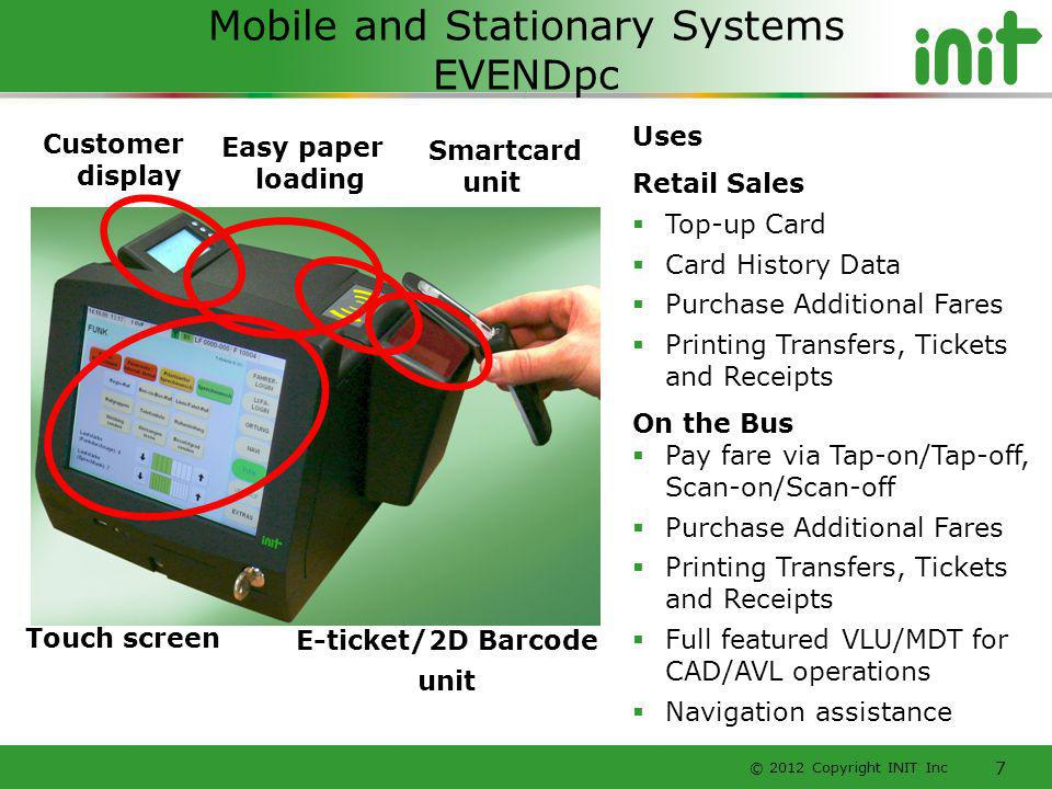 Mobile and Stationary Systems EVENDpc