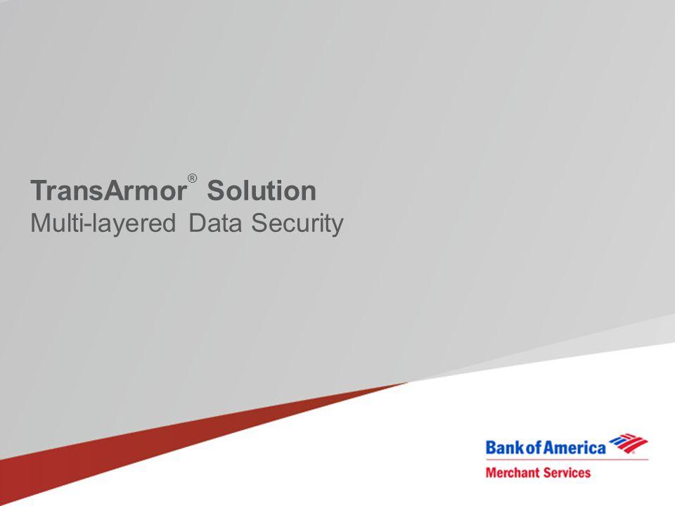 TransArmor® Solution Multi-layered Data Security