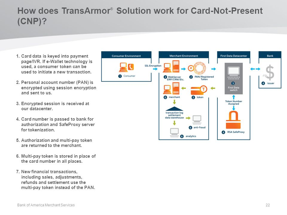 How does TransArmor® Solution work for Card-Not-Present (CNP)