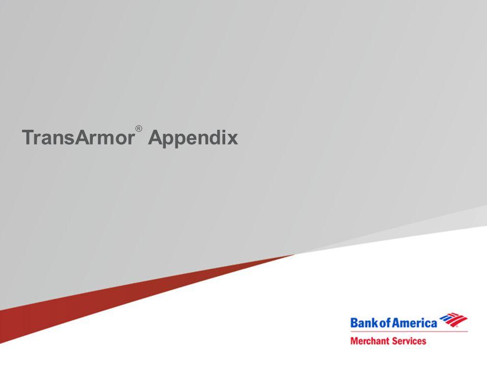 TransArmor® Appendix