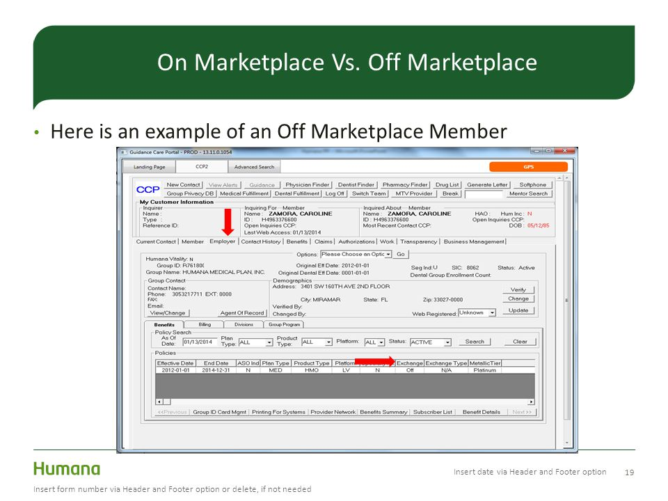 On Marketplace Vs. Off Marketplace