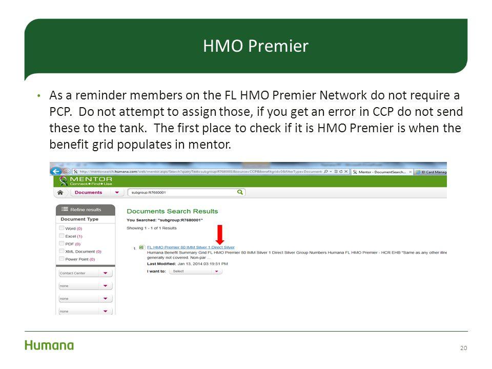 HMO Premier