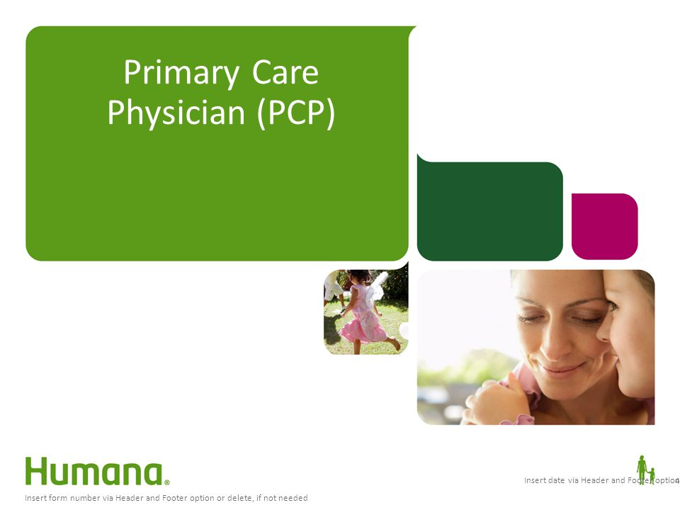 Primary Care Physician (PCP)