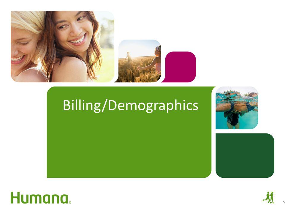 Billing/Demographics
