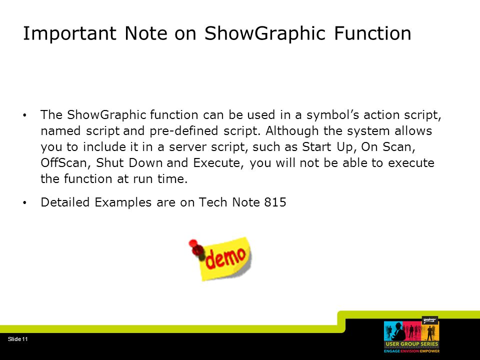 Important Note on ShowGraphic Function