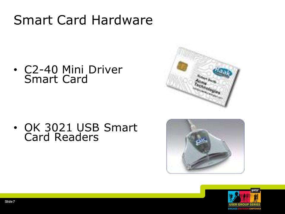 Smart Card Hardware C2-40 Mini Driver Smart Card