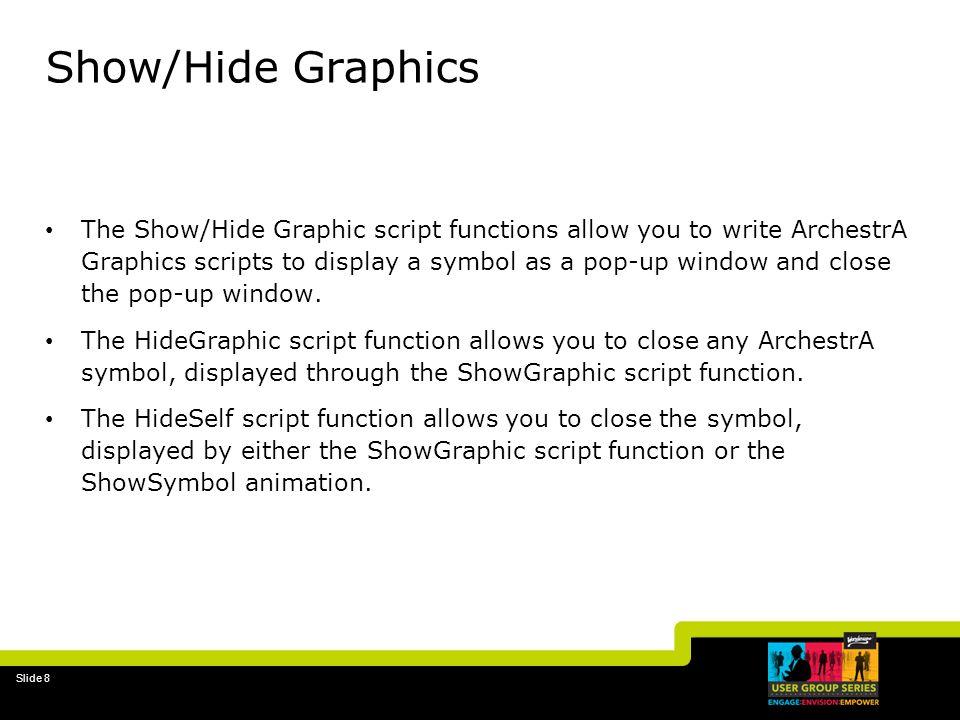 Show/Hide Graphics