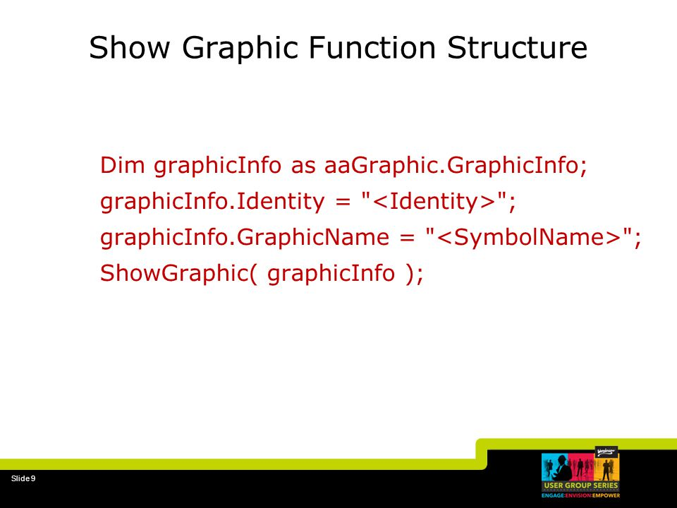 Show Graphic Function Structure