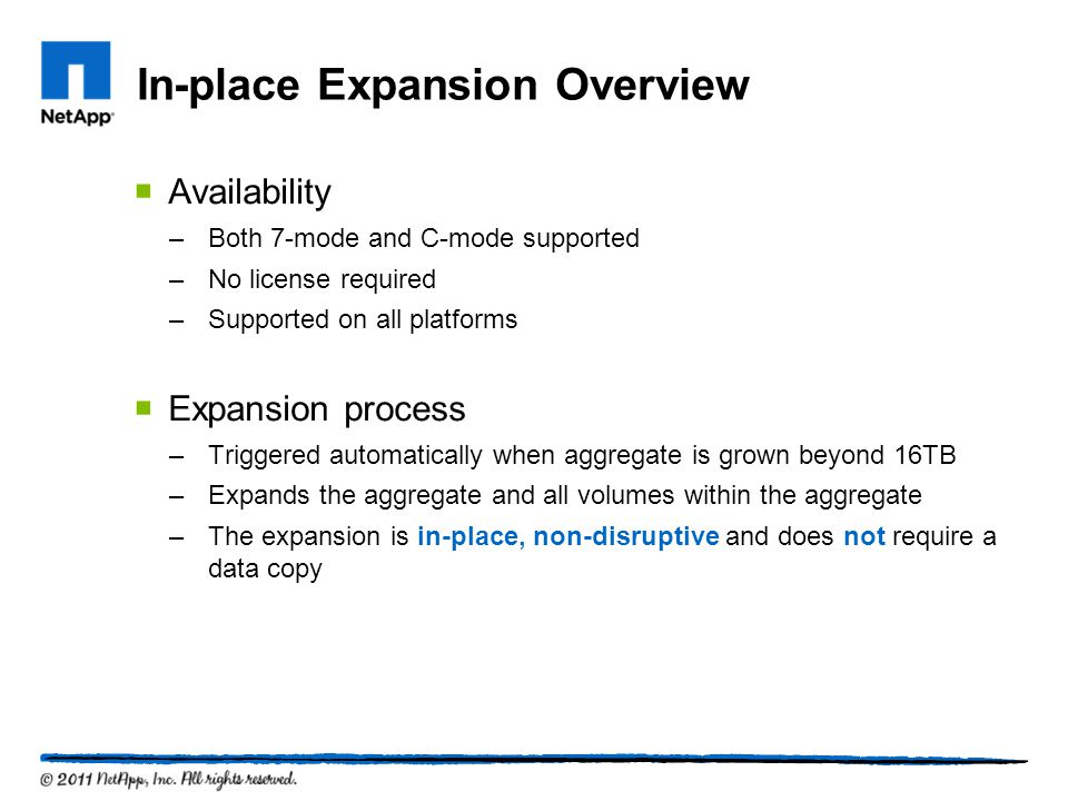 In-place Expansion Overview
