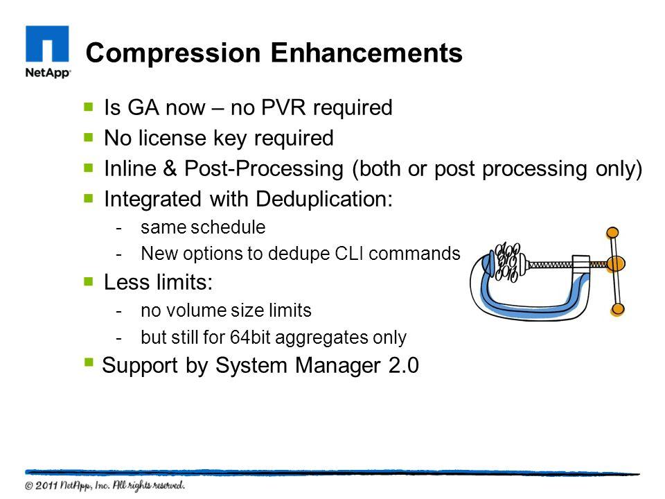 Compression Enhancements
