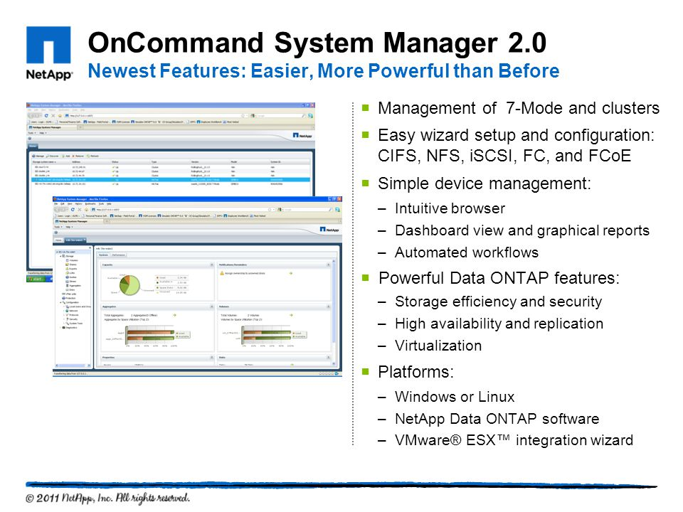 OnCommand System Manager 2