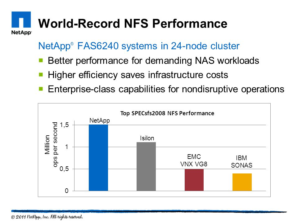 World-Record NFS Performance