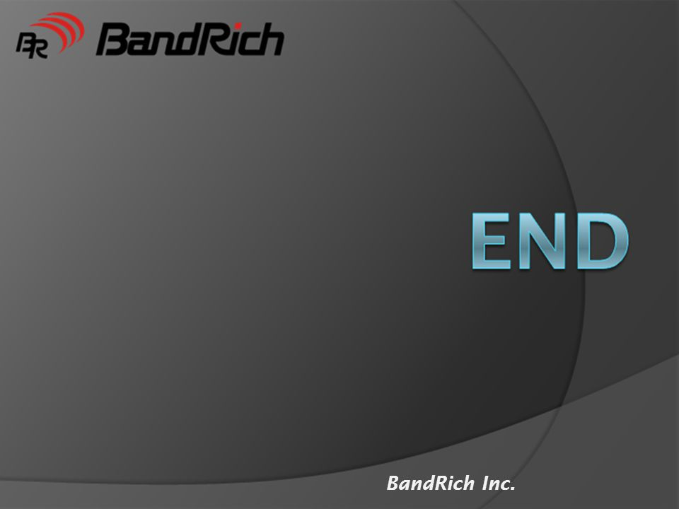 End BandRich Inc.