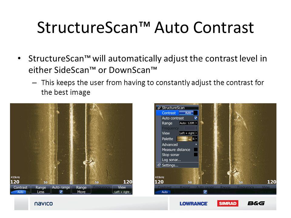 StructureScan™ Auto Contrast
